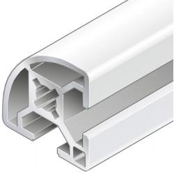 Profilo in alluminio 30x30 R