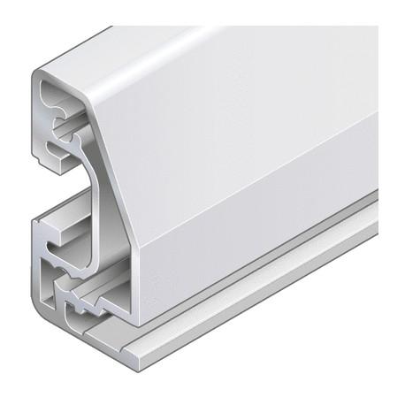 Profilo in alluminio 22,5x45 angolare