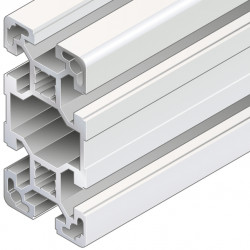 Profilo in alluminio 40x80L