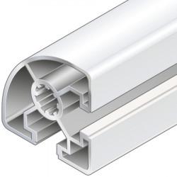 Profilo in alluminio 45x45L R