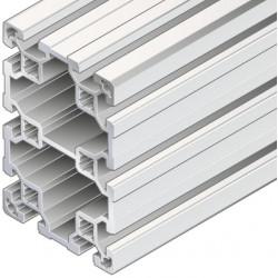Profilo in alluminio 80x120L