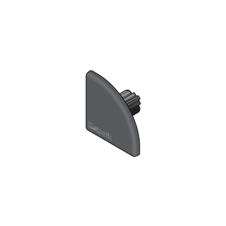 Cuffia per profilo 40x40L R