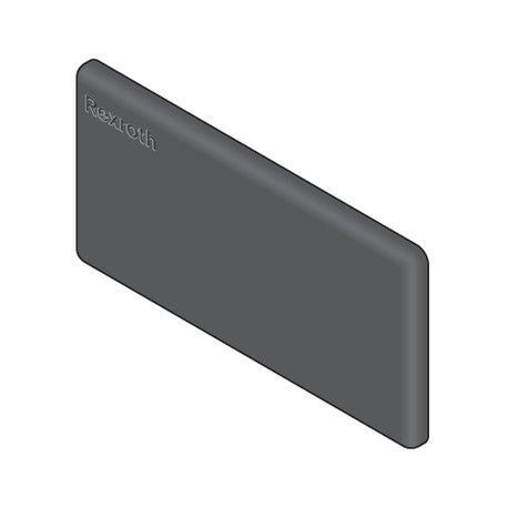 Cuffia per profilo 40x80L