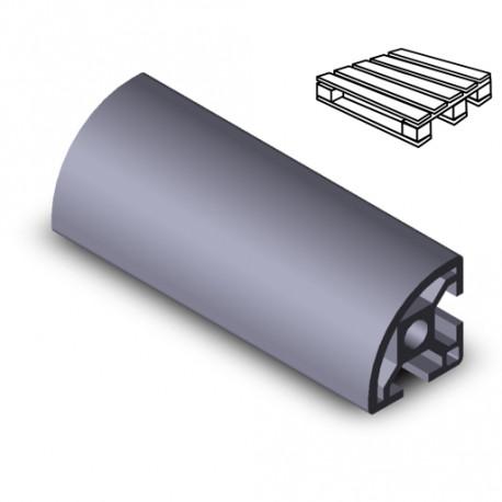 Profilo in alluminio 30x30 R (Cassa 20 barre)