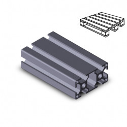 Profilo in alluminio 30x60 (Cassa 10 barre)