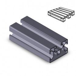 Profilo in alluminio 30x45 (Cassa 18 barre)