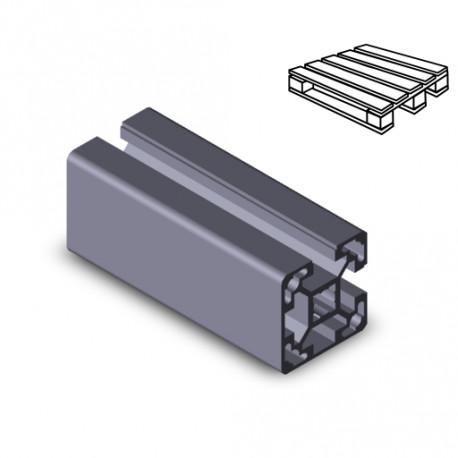 Profilo in alluminio 40x40L 2NVS (Cassa 20 barre)