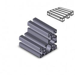 Profilo in alluminio 40x80x80L (Cassa 8 barre)