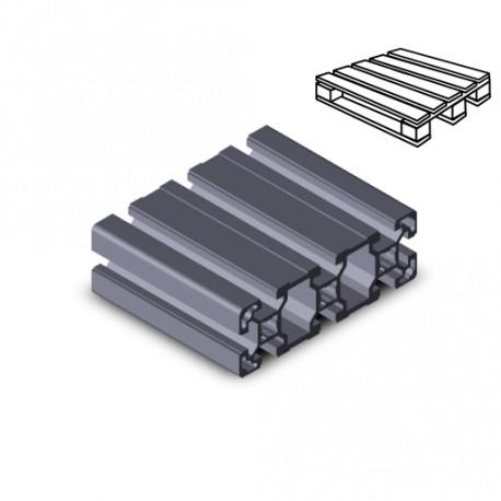 Profilo in alluminio 40x120L (Cassa 8 barre)