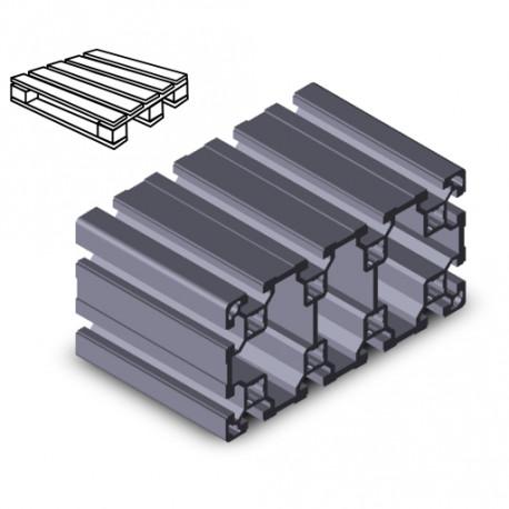 Profilo in alluminio 80x160L (Cassa 3 barre)