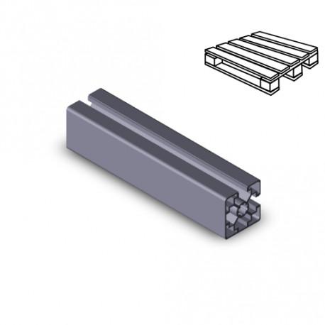 Profilo in alluminio 45x45L 2NVS (Cassa 20 barre)