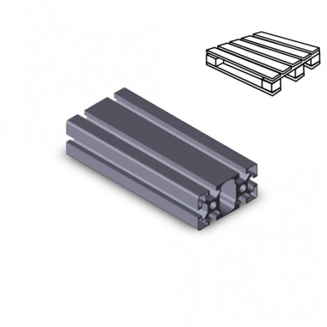 Profilo in alluminio 45x90L (Cassa 12 barre)