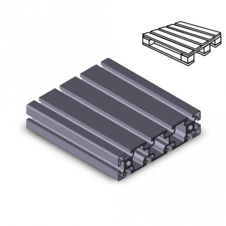 Profilo in alluminio 45x180 (Cassa 6 barre)