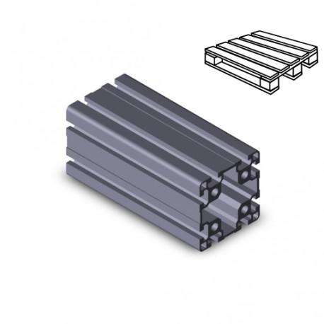 Profilo in alluminio 90x90L (Cassa 6 barre)