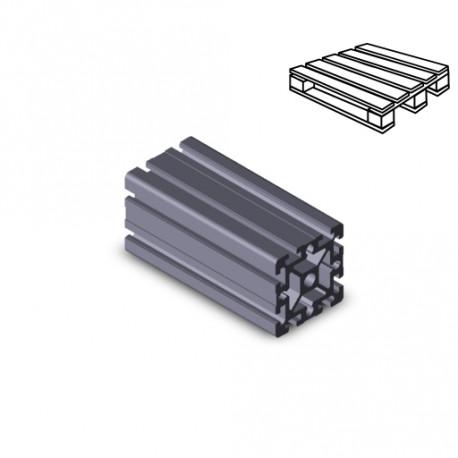 Profilo in alluminio 90x90 (Cassa 6 barre)