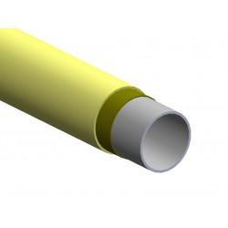 Tubo in acciaio ø28 colorato