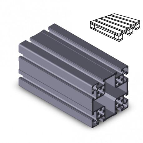 Profilo in alluminio 100x100L (Cassa 6 barre)