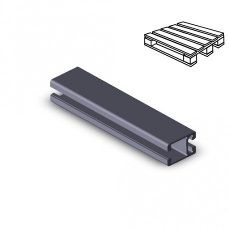 Profilo in alluminio 30x45 (Cassa 20 barre)