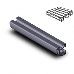 Profilo in alluminio 20x20 R (Cassa 20 barre)
